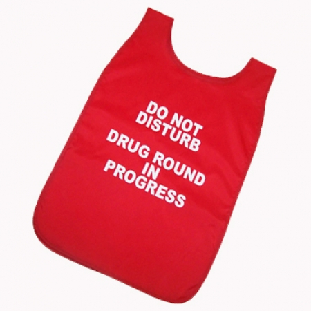 Medication Round Tabard - Red