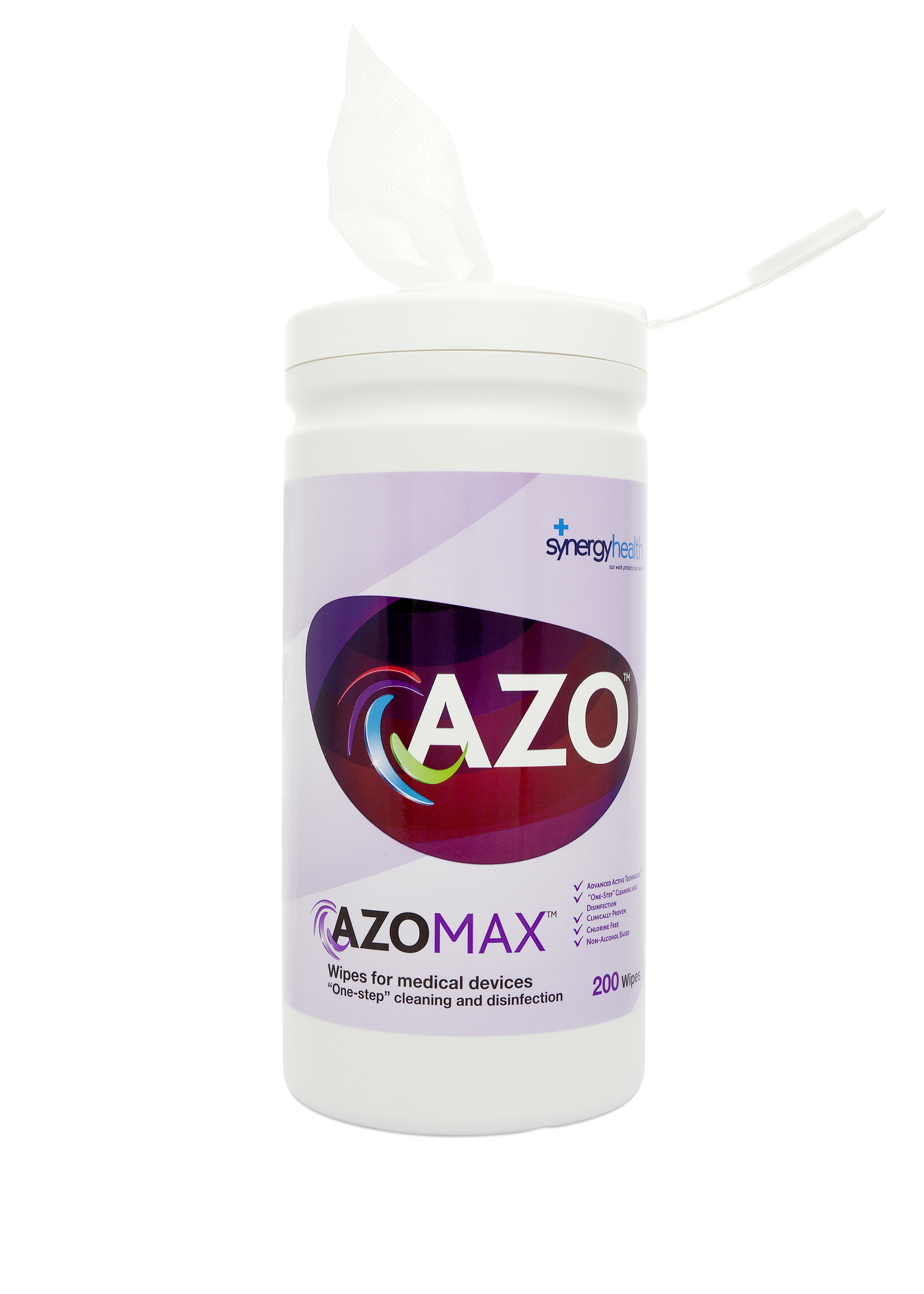 Azo Max Cleaning and Disinfection Wipes