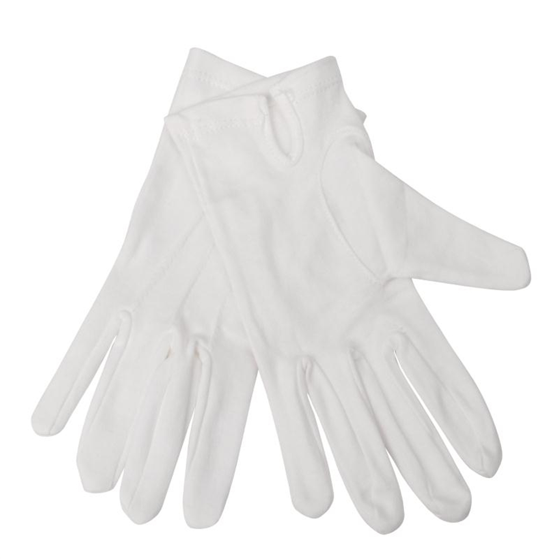 Ladies Waiting Gloves White L