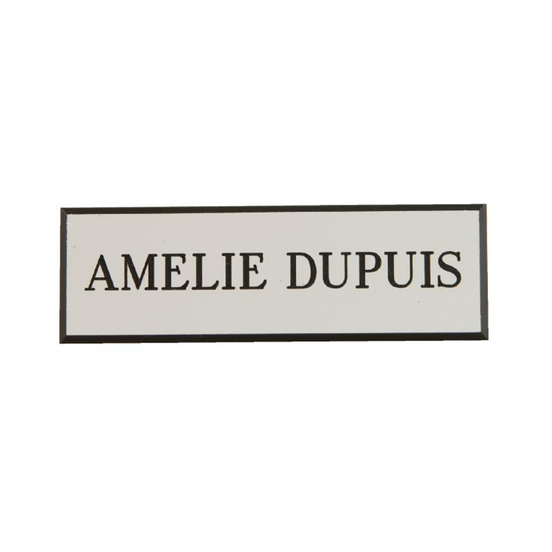 Name Badges White