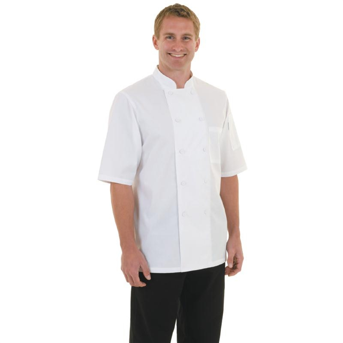 Chef Works Montreal Cool Vent Unisex Chefs Jacket White M