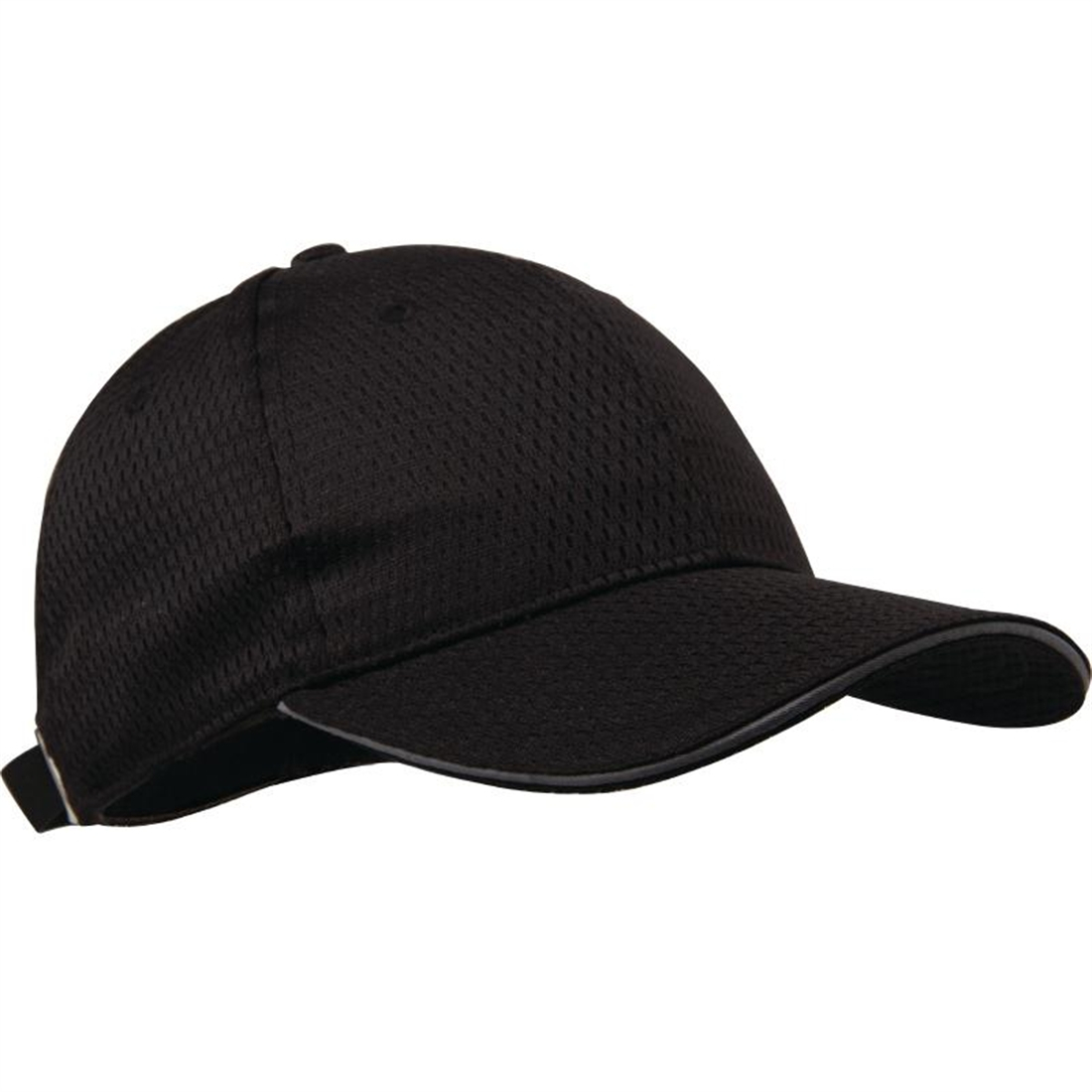 Colour by Chef Works Cool Vent Baseball Cap with Grey