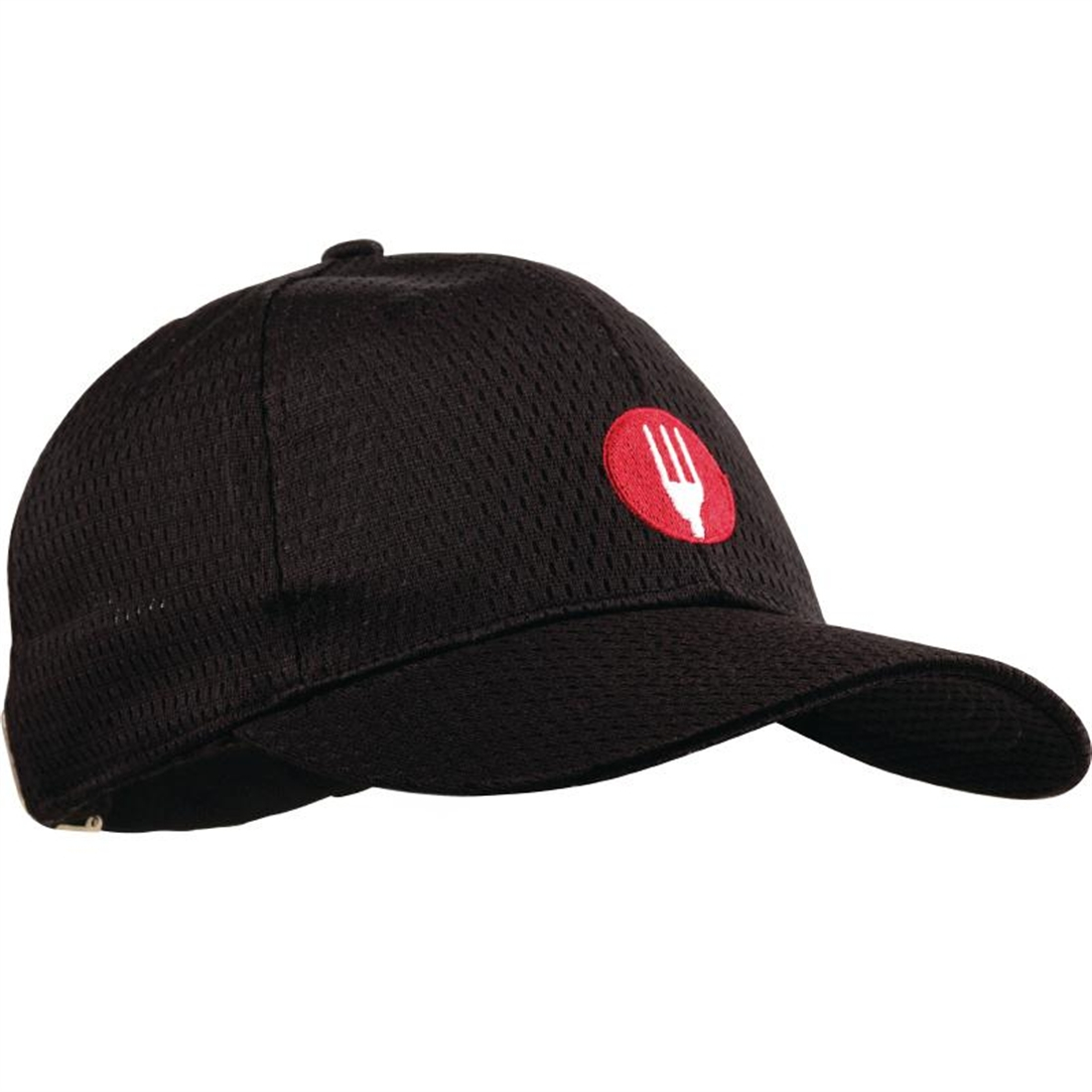 Colour By Chef Works Cool Vent Baseball Cap Black