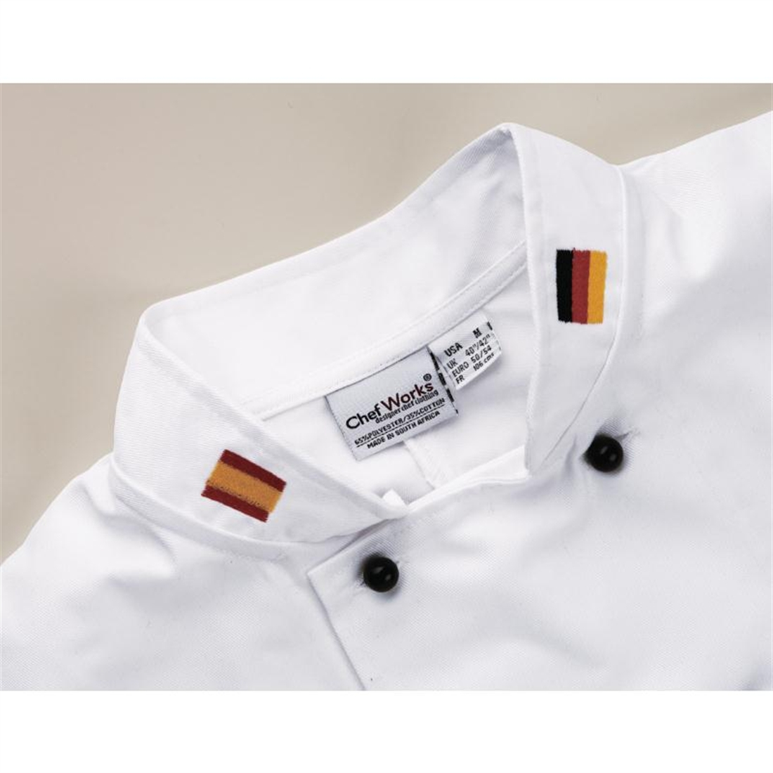Embroidery Collar Flags