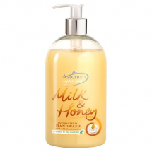 6x500ml Astonish Hand Soap - Milk & Honey - Antibacterial