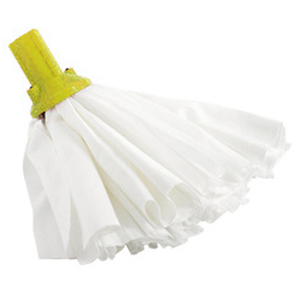 Exel Big White Mop - Yellow