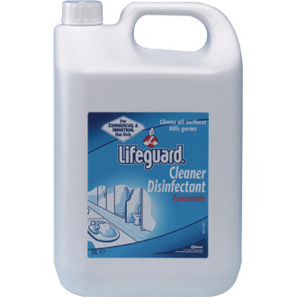 Lifeguard Cleaner/Disinf. 5 Litre