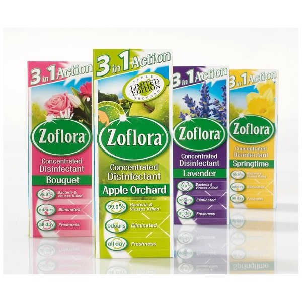Zoflora Concentrated Disinfectant - 12 x 56ml