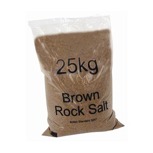 Brown Grit Salt 25 Kg