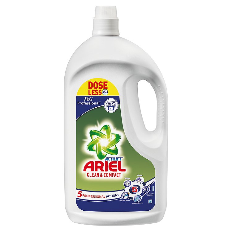 Ariel Liquid Concentrate - Non Dosing - 4L
