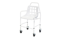 Mobile Shower Chair - Height Adjustable 130kg Capacity