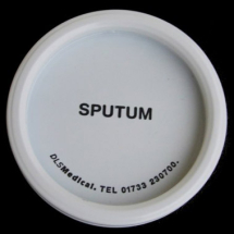 Sputum Pot Lids only 50 Per Pack