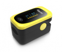 Finger Pulse Oximeter with LED Display (inc batteries)