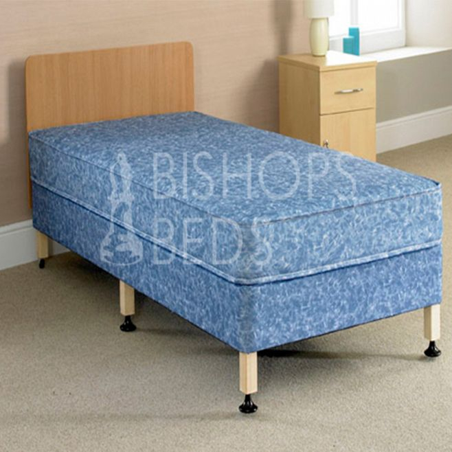 Divan Double Bed + Mattress Set (4'6 x 6'3)