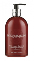 Baylis & Harding -Black Pepper Ginseng Hand Wash - 500ml Each
