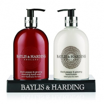 Baylis & Harding B.Pepper & Ginseng Hand Wash/Lotion Set