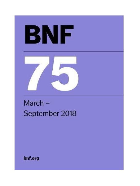 British National Formulae Pharmacuetical Hand BNF 75