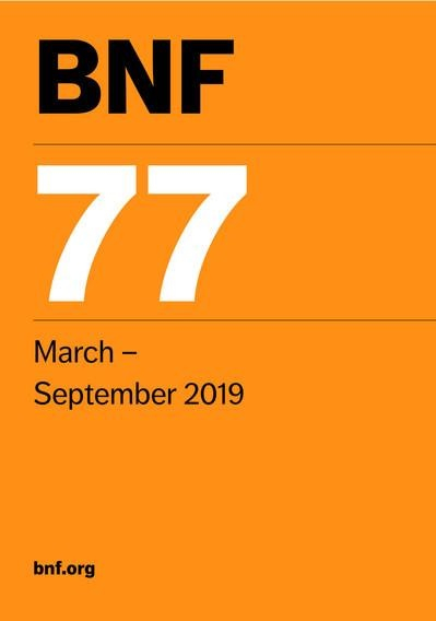 BNF 77 - Mar-Sep 2019 British National Formulae