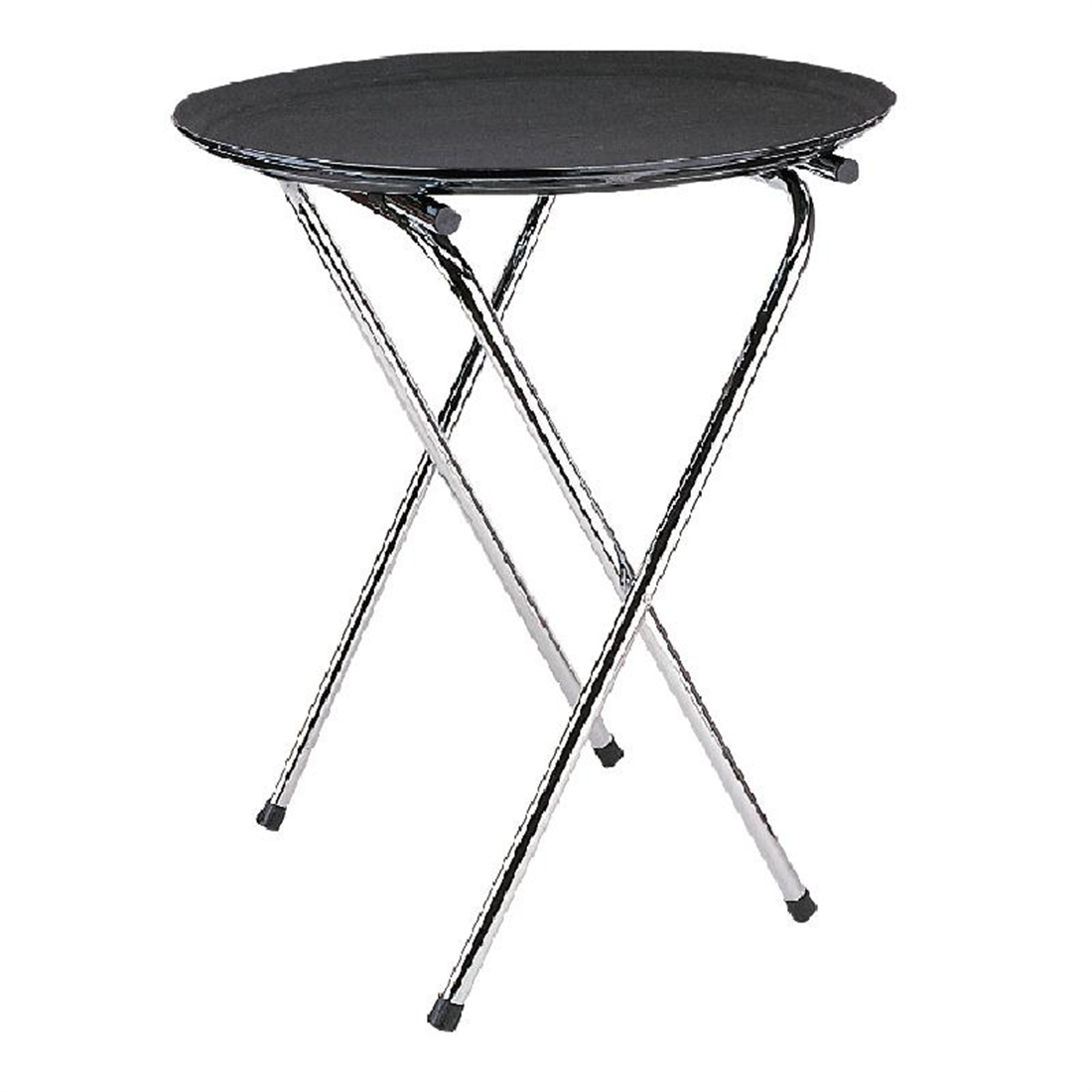 Kristallon Chrome Folding Tray Stand