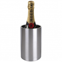 Olympia Brushed Stainless Stee l Wine And Champagne Cooler