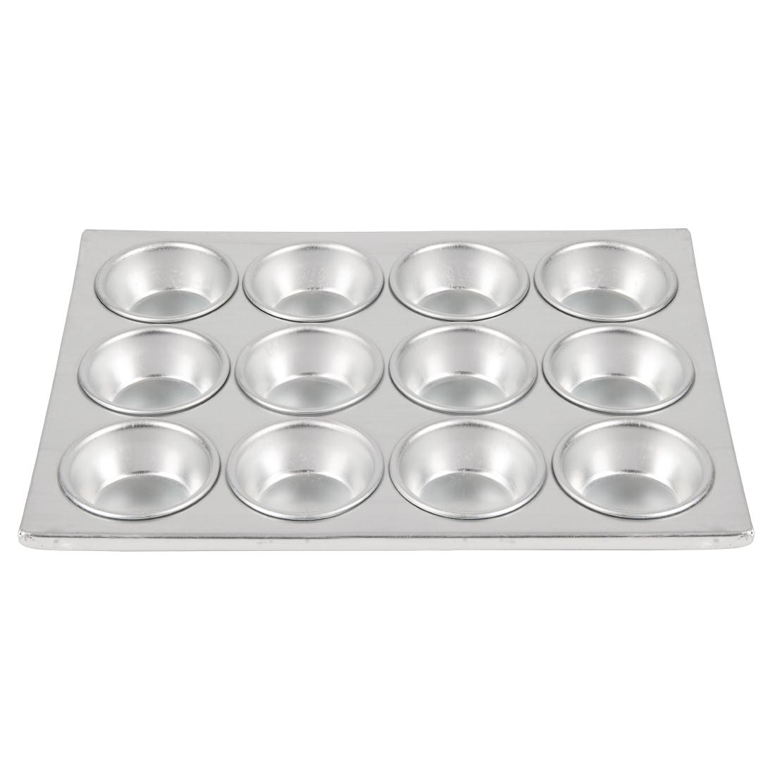 Vogue Aluminium 12 Cup Muffin Tray