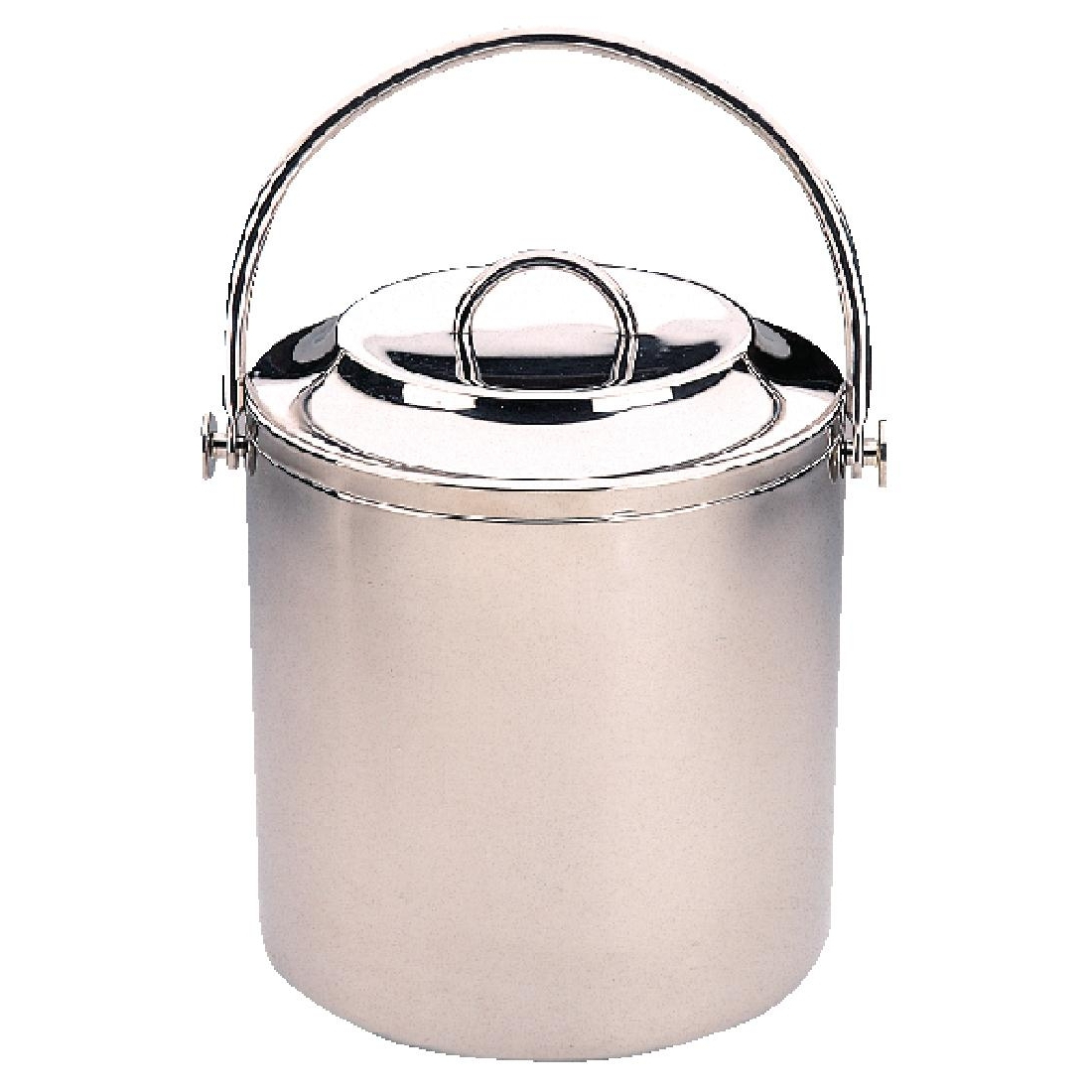 Olympia Ice Bucket with Lid 2 Ltr
