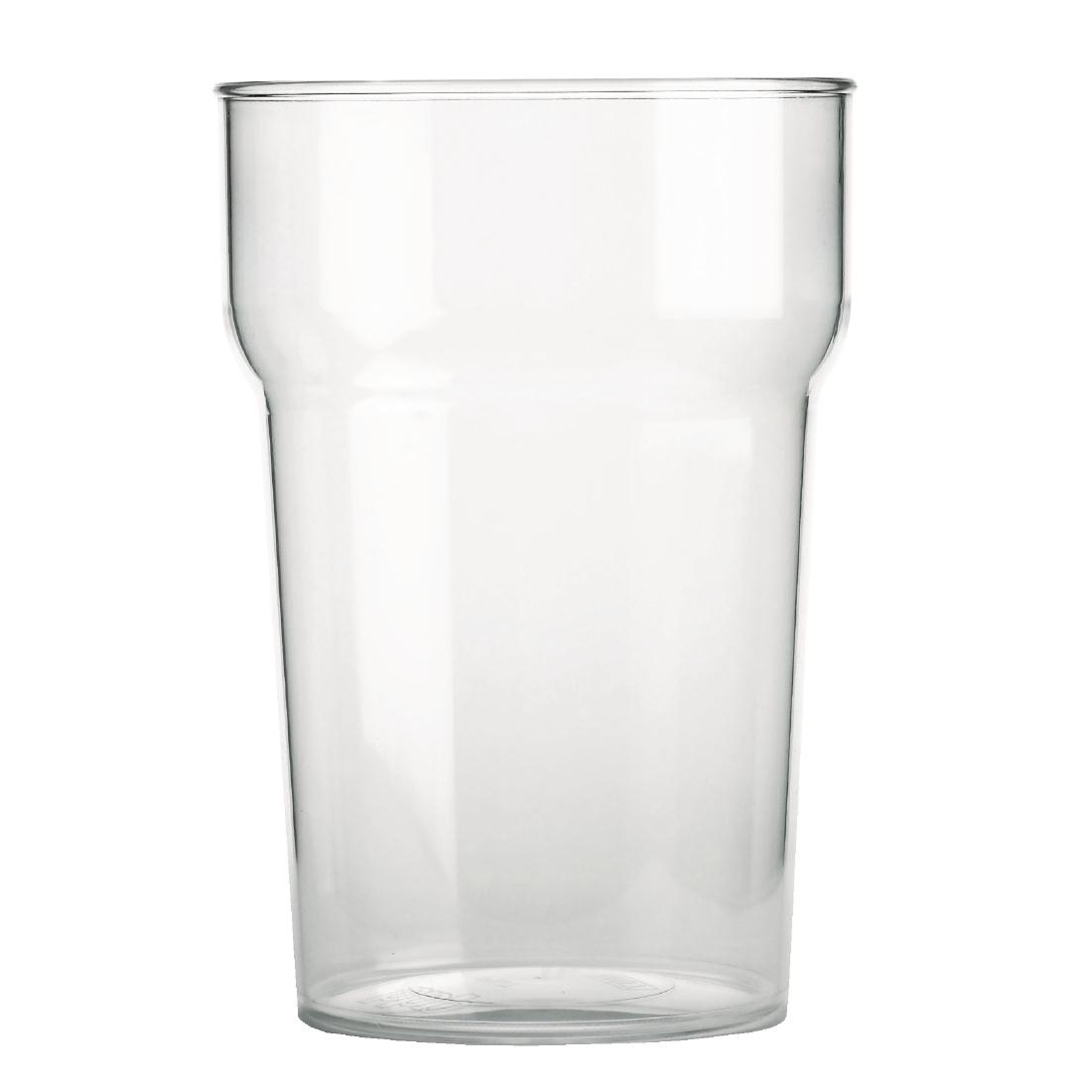 BBP Polycarbonate Nonic Pint Glasses 570ml CE Marked