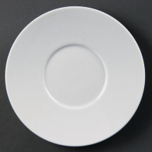 Olympia Whiteware Elegant Sauc ers 148mm