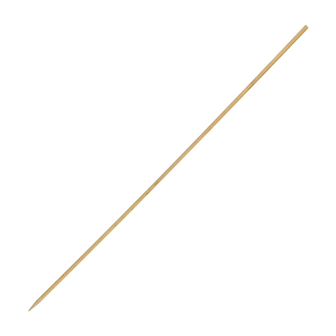 Disposable Wooden Skewers 10 Inch Pack of 200