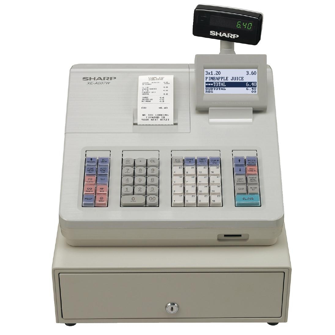 Sharp Cash Register XE-A207W