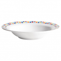 Carlisle Spanish Tile Pasta Bowls 195mm