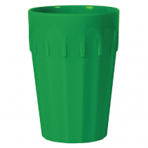 Kristallon Polycarbonate Qty12 Tumblers Green 142ml