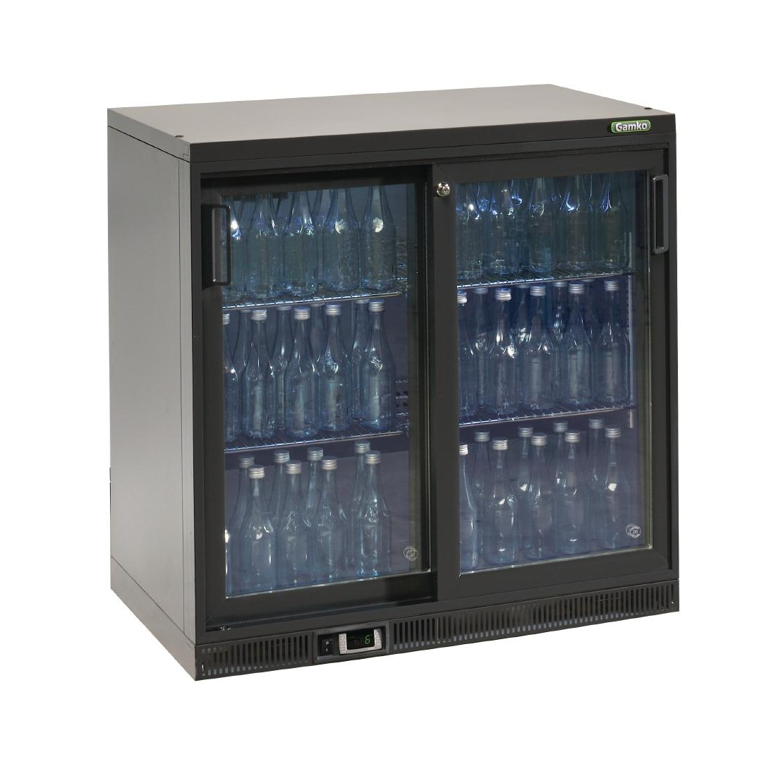 Gamko Bottle Cooler - Double Sliding Door 250 Ltr
