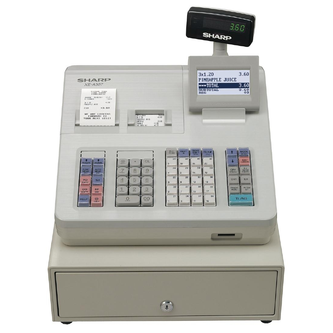 Sharp Cash Register  XE-A307