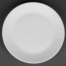 Royal Porcelain Classic White Coupe Plates 170mm