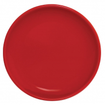 Olympia Cafe Coupe Plate Red 205mm - Box of 12