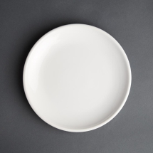 Olympia Cafe Coupe Plate White 200mm
