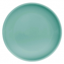 Olympia Cafe Coupe Plate Aqua 205mm - Box of 12