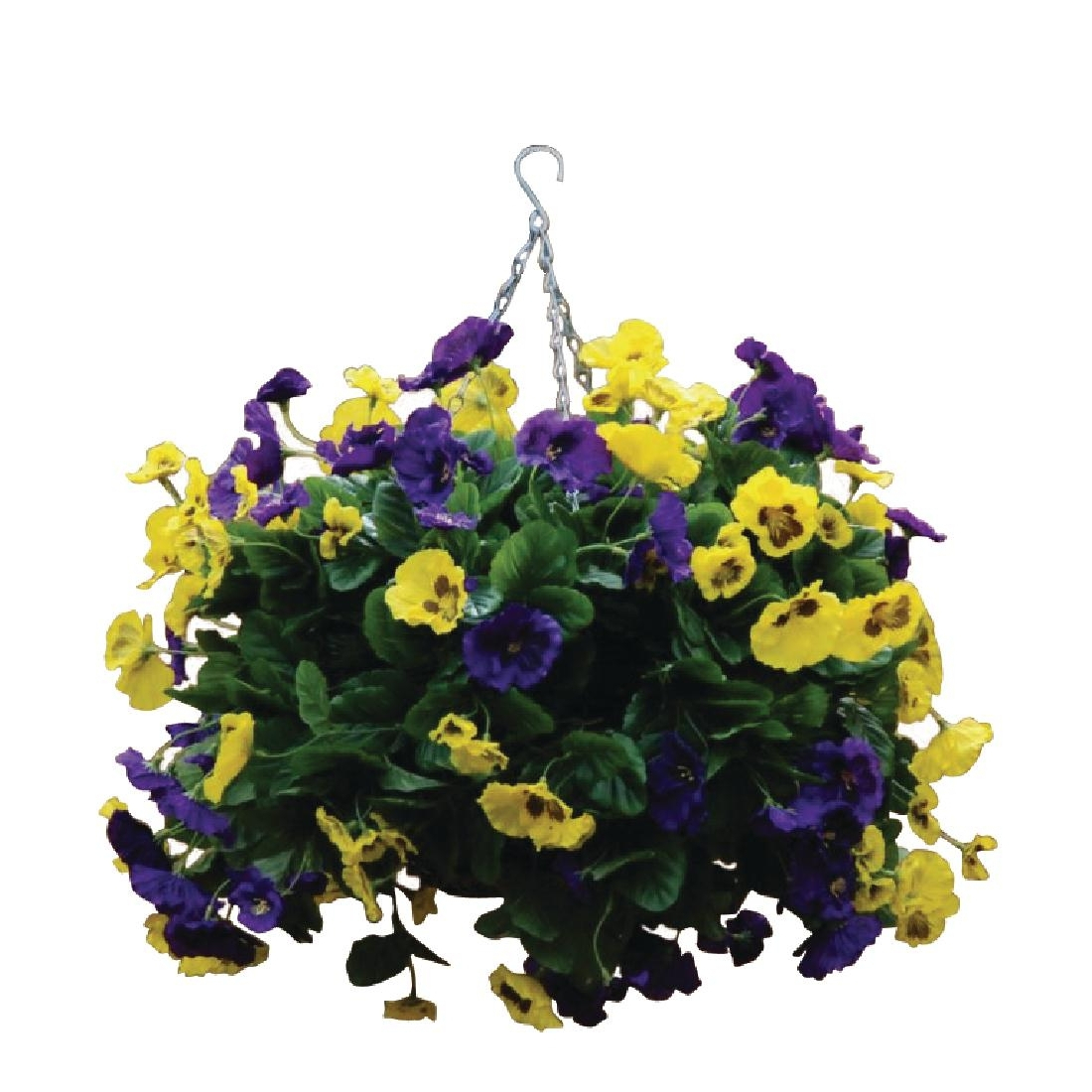 22inch Purple and Yellow Pansy Ball