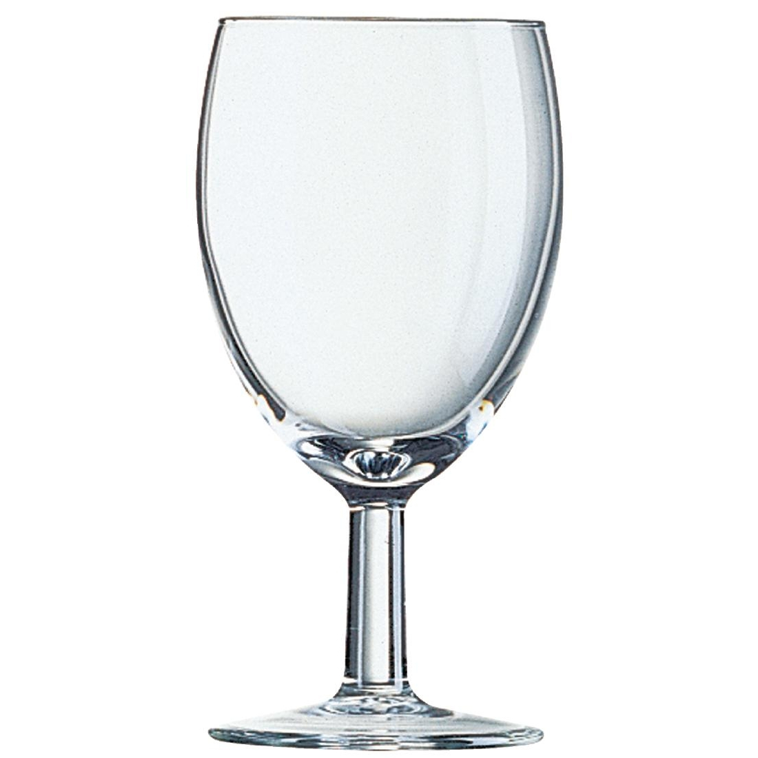Arcoroc Savoie Wine Glasses 240ml CE Marked at 175ml