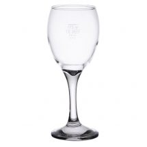 Arcoroc Seattle Nucleated Wine Glasses 240ml CE Marked at 17