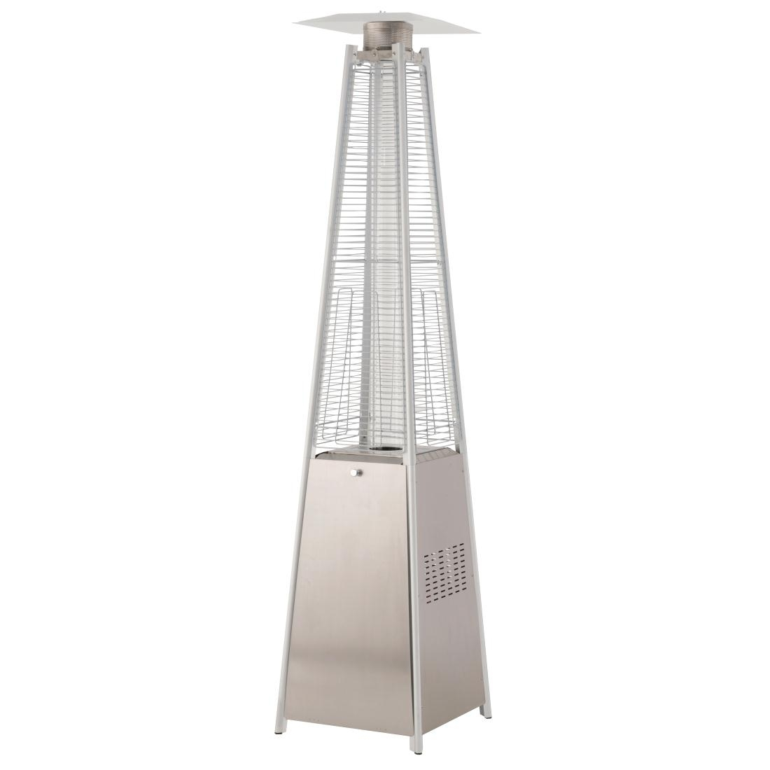 Lifestyle Tahiti Flame Stainless Steel Patio Heater 13kW