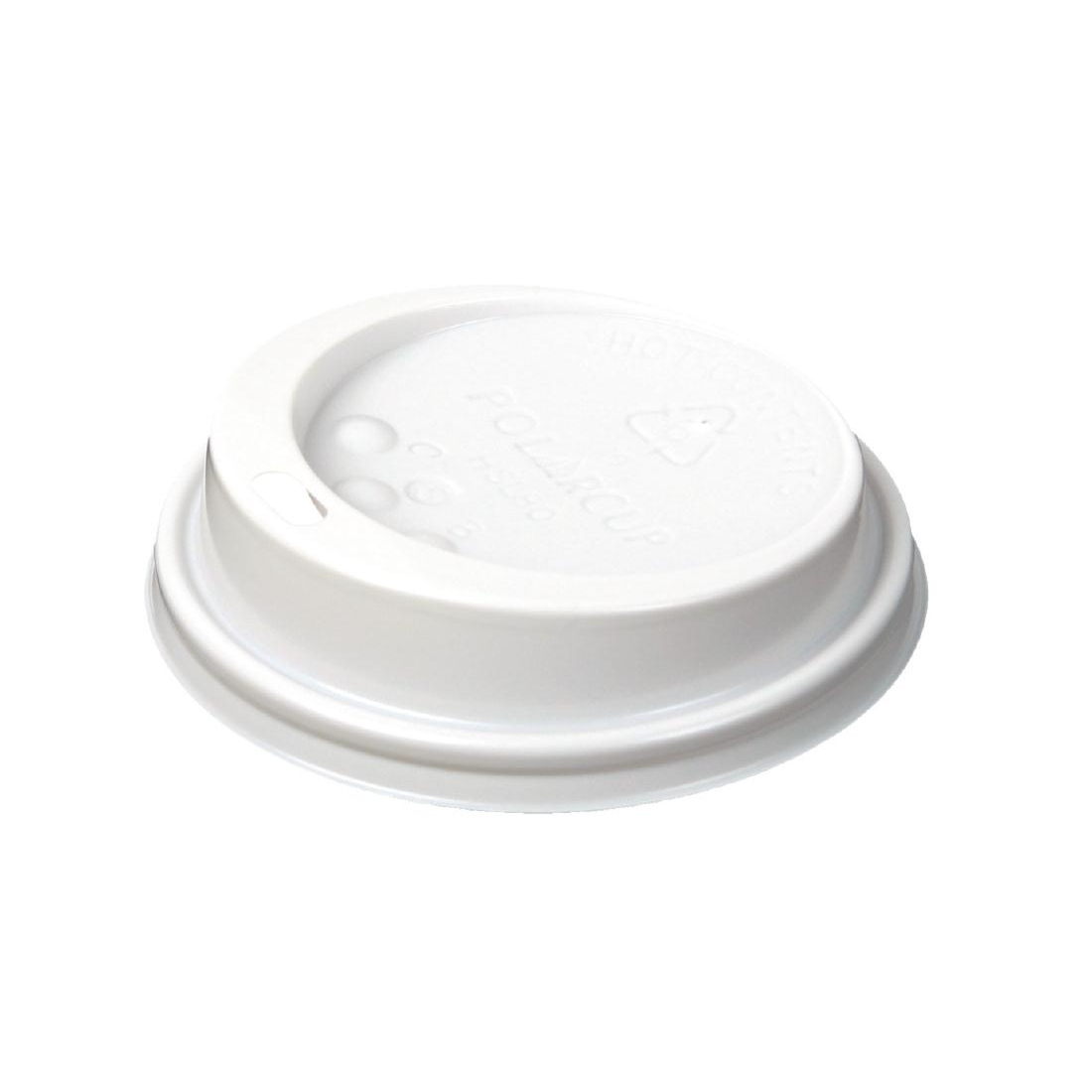 Huhtamaki Hot Cup Lid to fit 8 / 9oz White