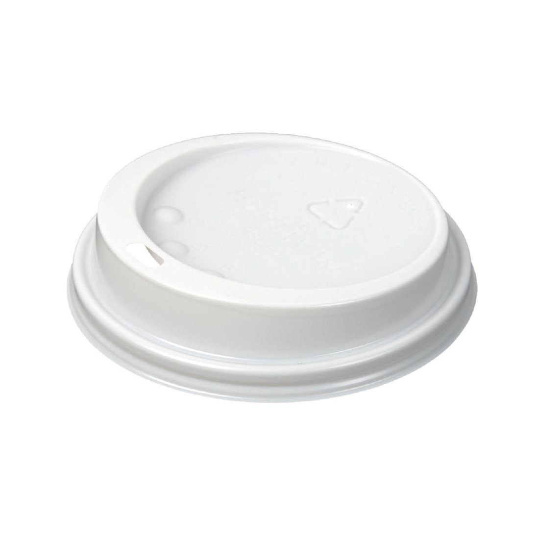 Huhtamaki Hot Cup Lid to fit 12 / 16oz White