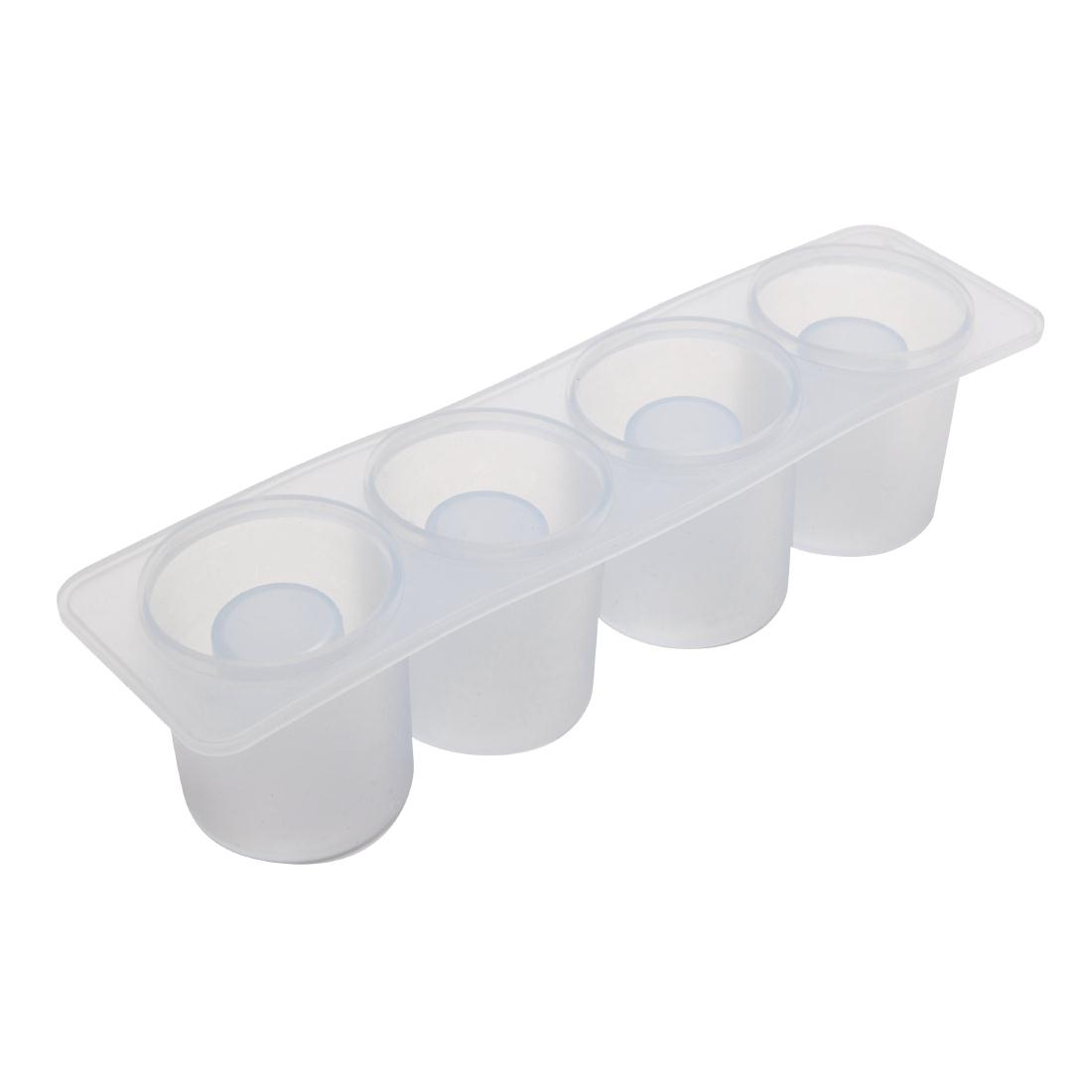 Beaumont Silicone Shot Glass Mould