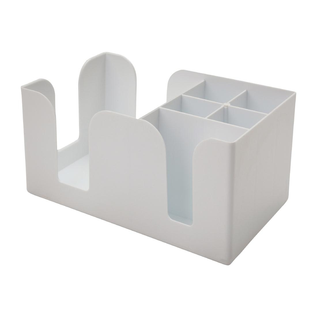 Beaumont Bar Caddy White