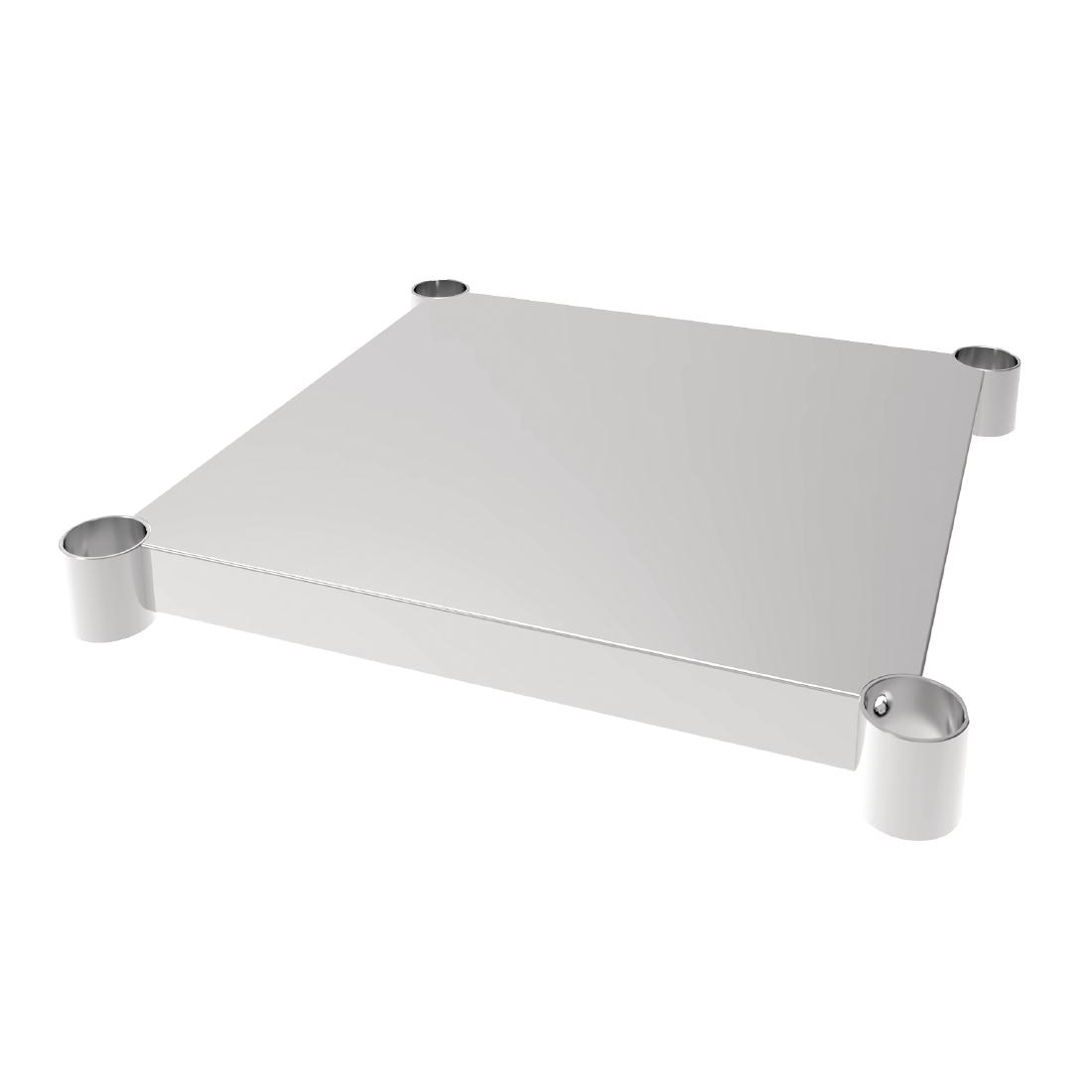 Vogue Stainless Steel Table Shelf 600x600mm