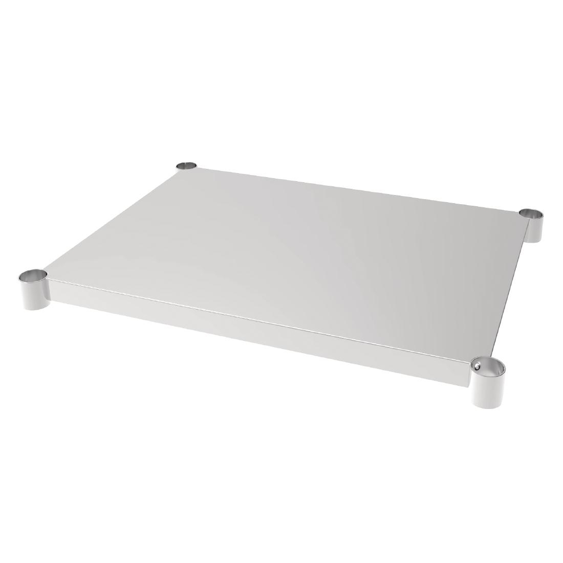 Vogue Stainless Steel Table Shelf 700x900mm