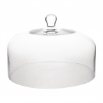 Olympia Cake Dome - Glass 285mm Dia -
