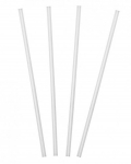 Clear Slimline Sip Straws Box of 1000
